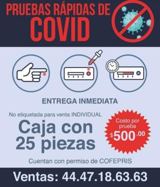 PRUEBAS COVID INTERIOR