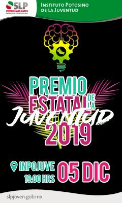 GOB 4 TEXTO - PREMIO ESTATAL DE LA JUVENTUD