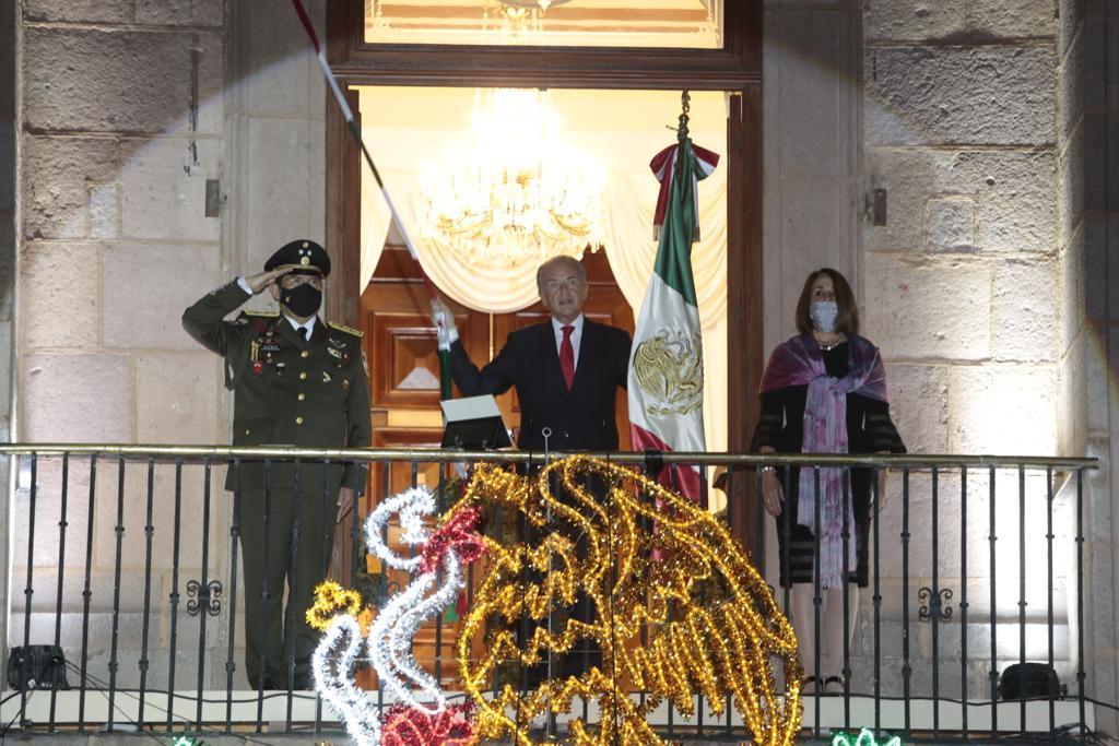 JMC encabeza ceremonia del 210 aniversario del Grito de Independencia