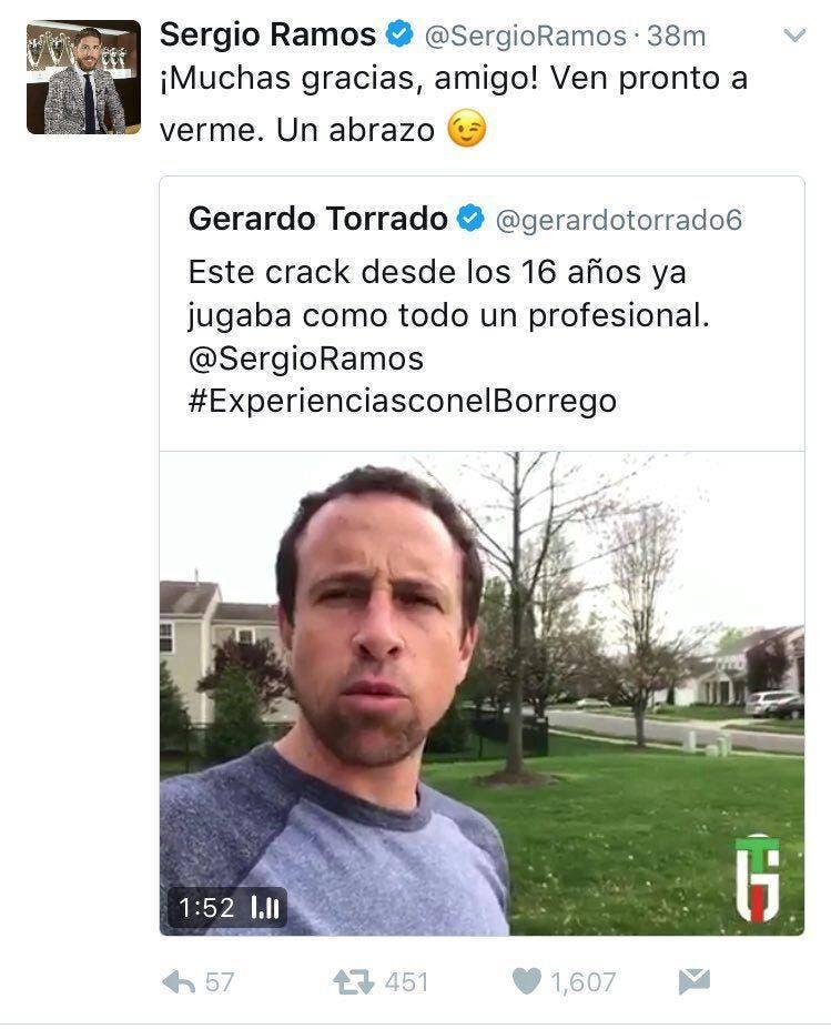 Plano Deportivo VIDEO: Torrado Presume Amistad Con Sergio