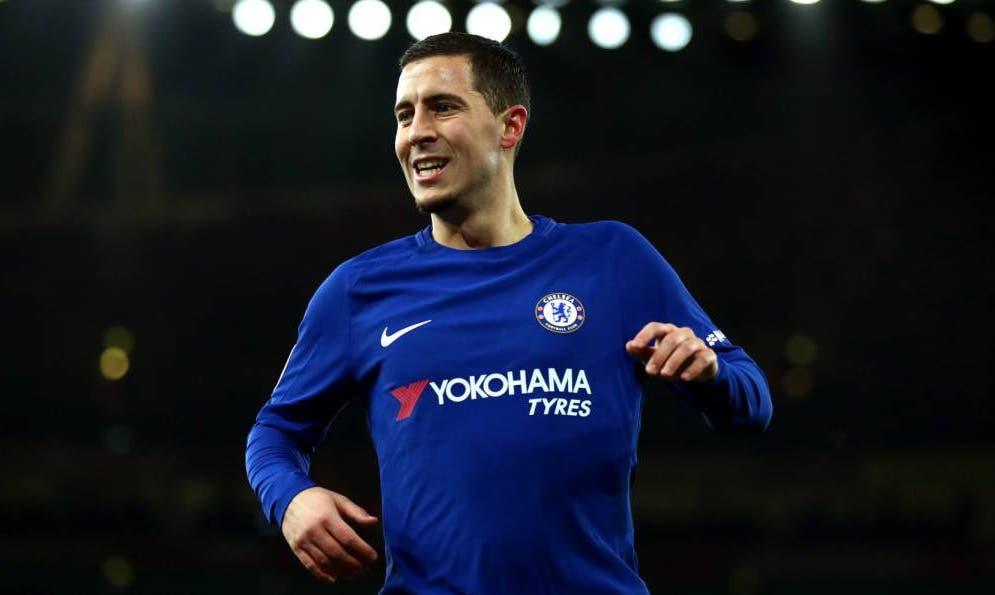 Sarri descarta la salida de Hazard