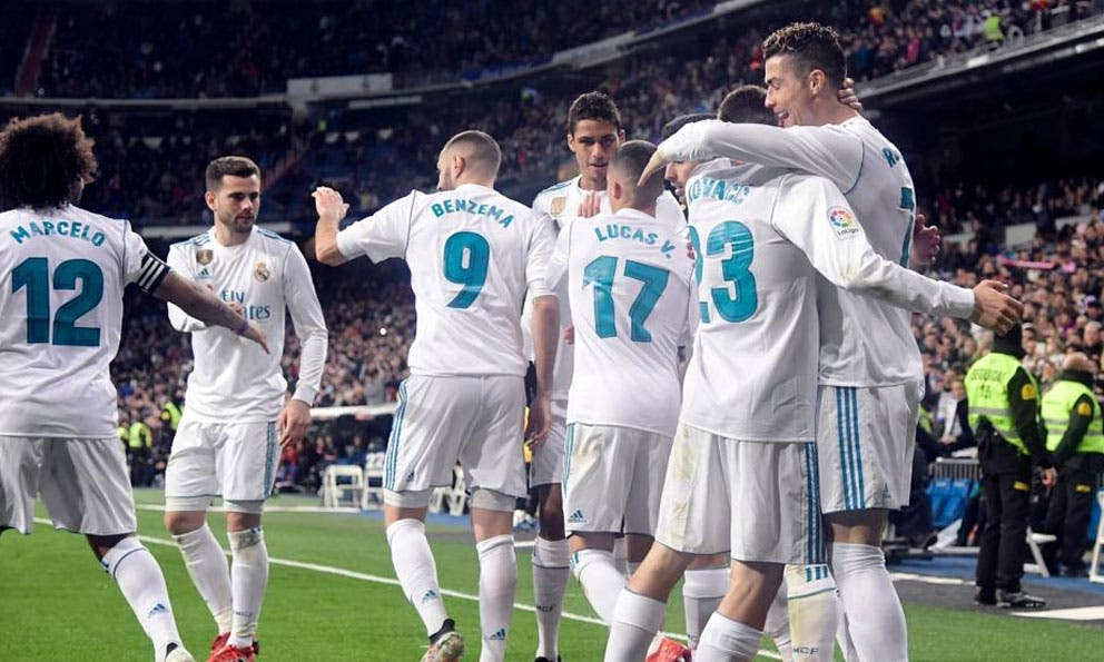 Con póker de CR7, Real Madrid se impuso ante Girona