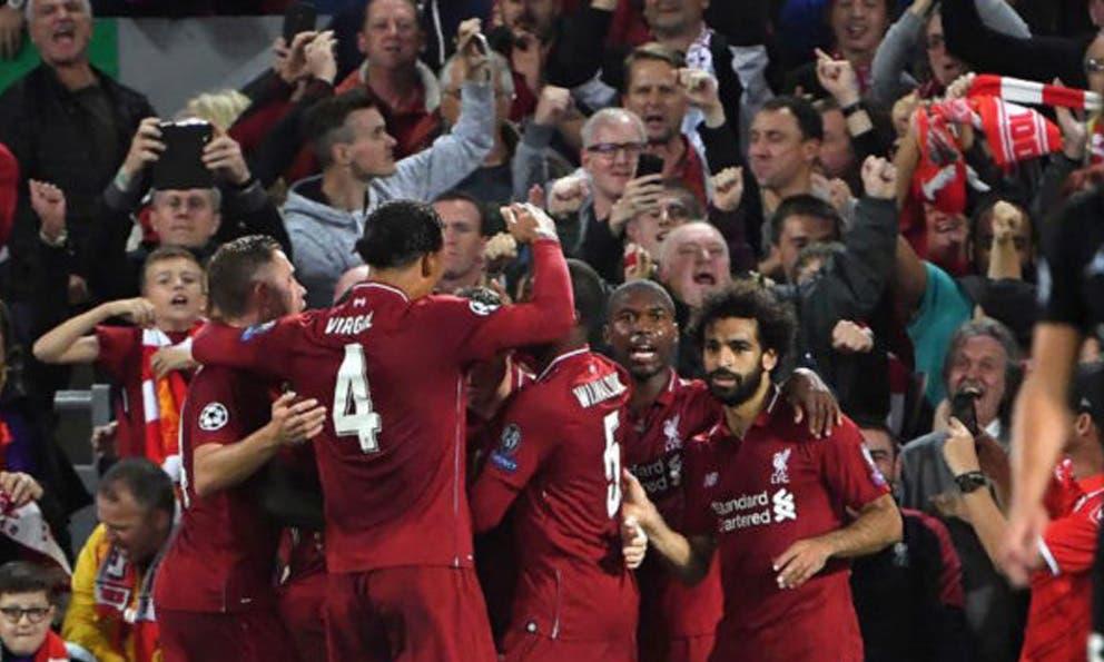 Partidazo en Anfield, Liverpool gana a PSG