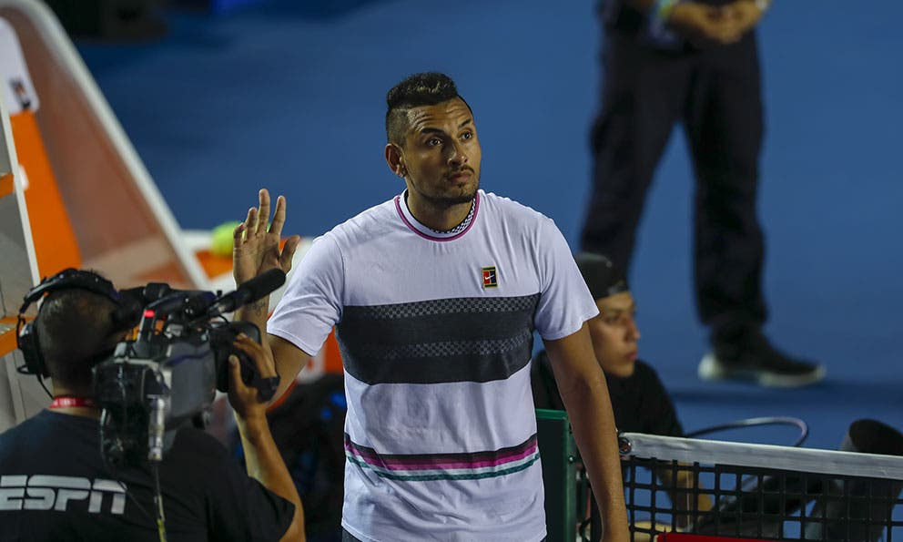 Plano Deportivo Kyrgios Genera Polemica Tras Expulsion De Djokovic En El Us Open