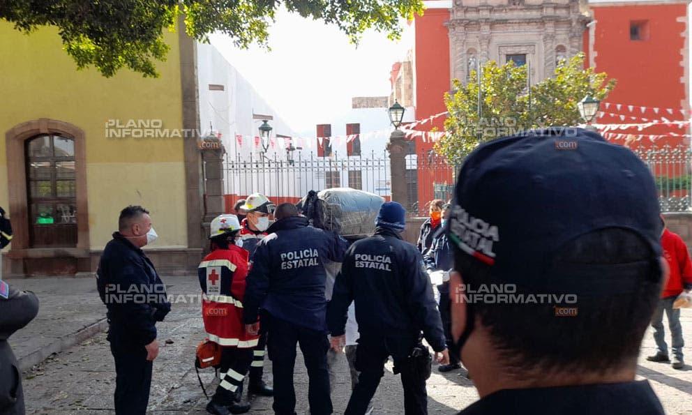Hombre intenta suicidarse en el Jardín de San Sebastián