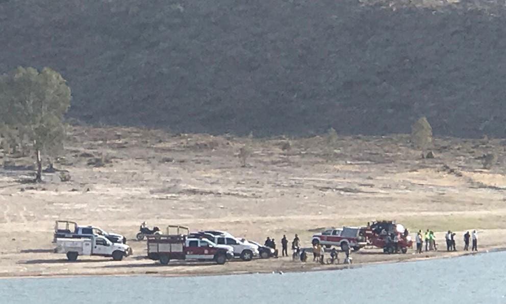 Hombre muere ahogado en la Cañada del Lobo